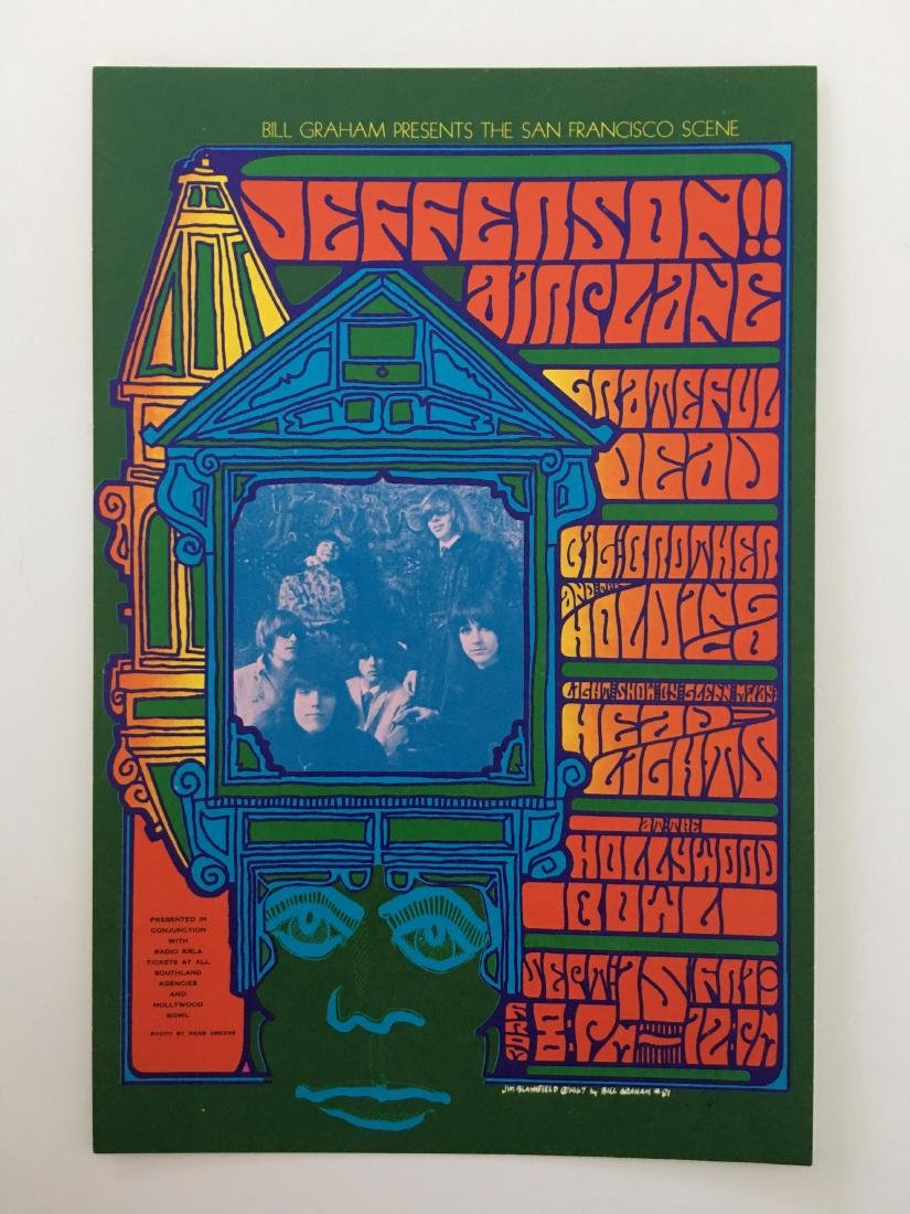 BG81 JEFFERSON AIRPLANE  HANDBILL