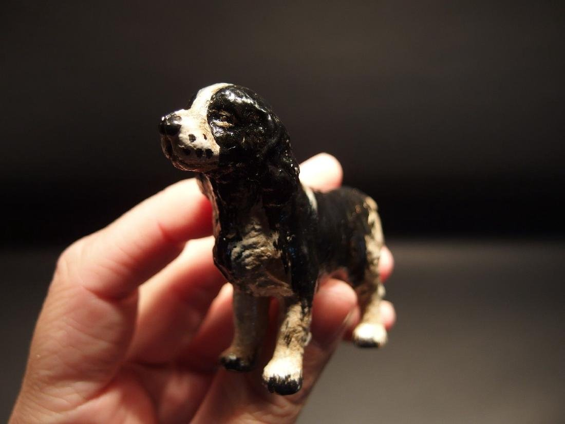 Primitive Miniature Cast Iron Dog Springer Spaniel - 5