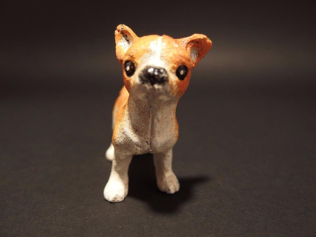 Primitive Miniature Cast Iron Dog Chihuahua - 4