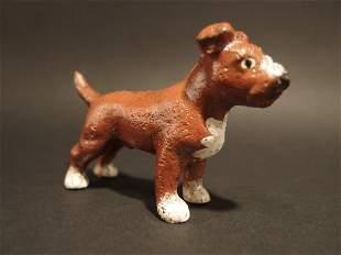 Primitive Cast Iron Pit Bull Dog