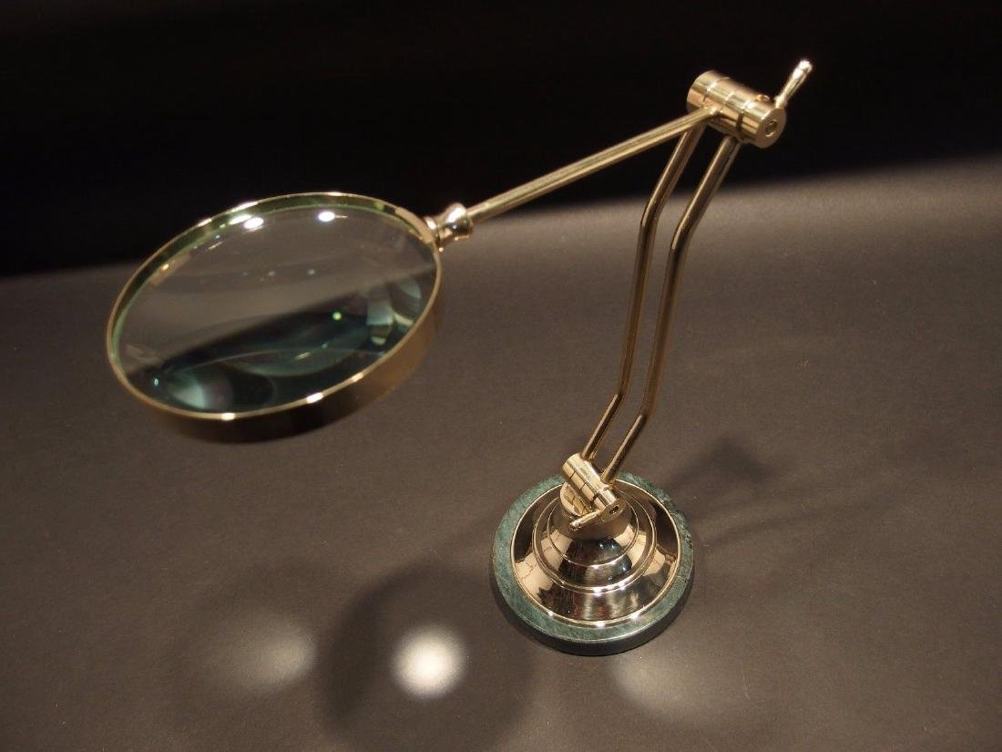 Adjustable Table top Arm Magnifying glass Desk
