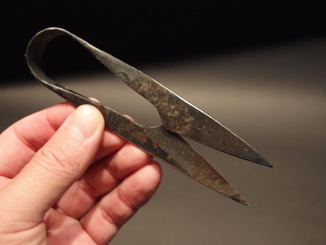 Custom Forged Iron Patch Scissors