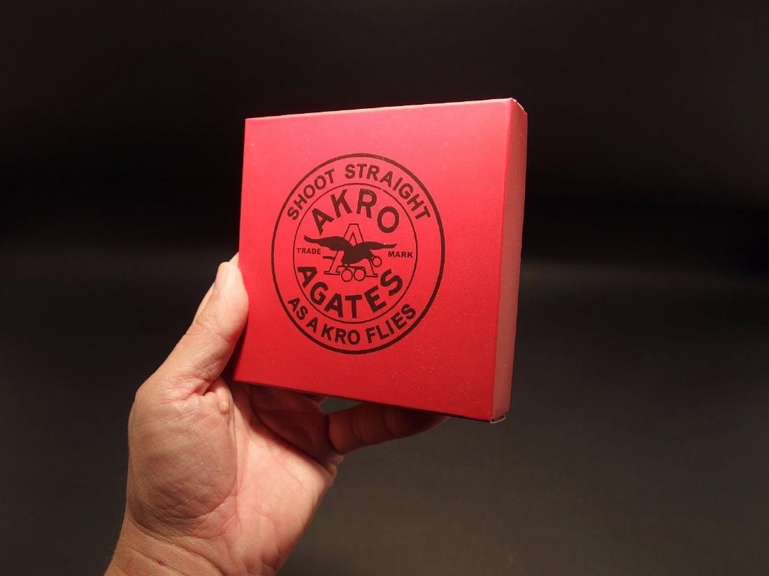 Akro Agates Marble set w Box - 5