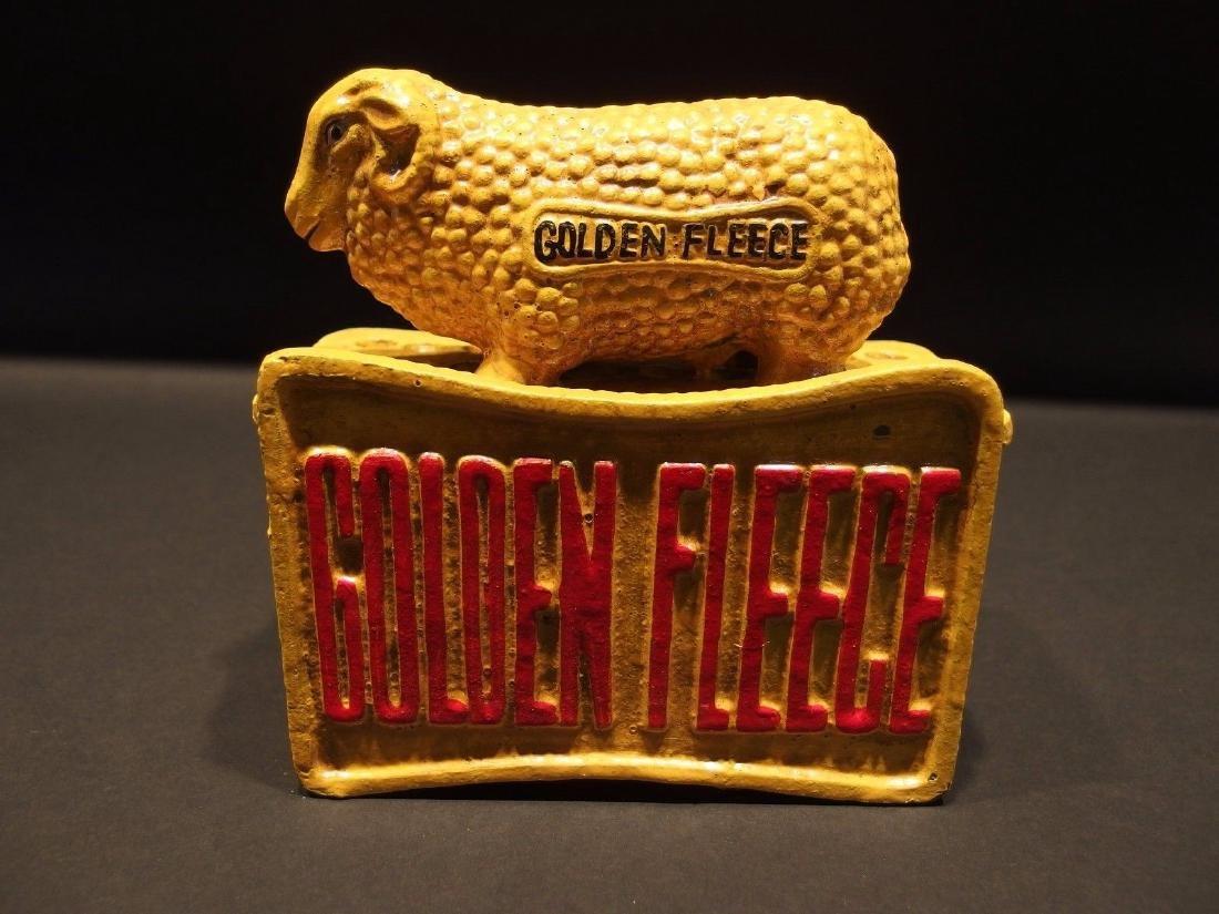 "Cast Iron ""Sydney TL 1950"" Golden Fleece Sheep Coin"
