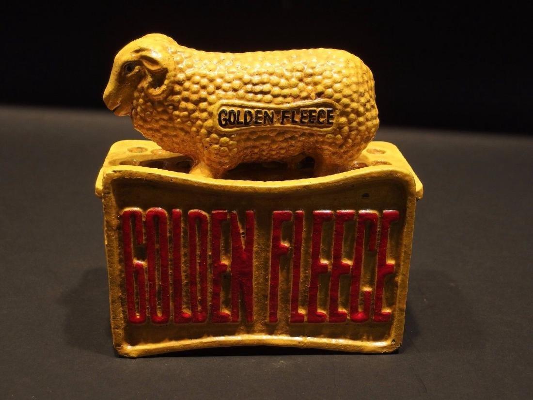 "Cast Iron ""Sydney TL 1950"" Golden Fleece Sheep Coin - 8"