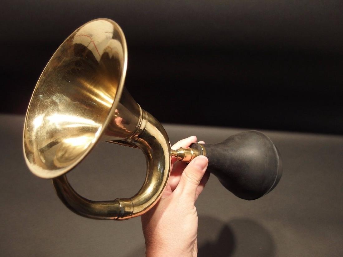 Brass Taxi Horn Trumpet Old Car Clown Bulb Airhorn LOUD - 4