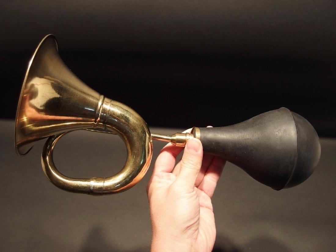 Brass Taxi Horn Trumpet Old Car Clown Bulb Airhorn LOUD - 5
