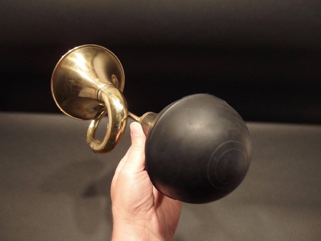 Brass Taxi Horn Trumpet Old Car Clown Bulb Airhorn LOUD - 6