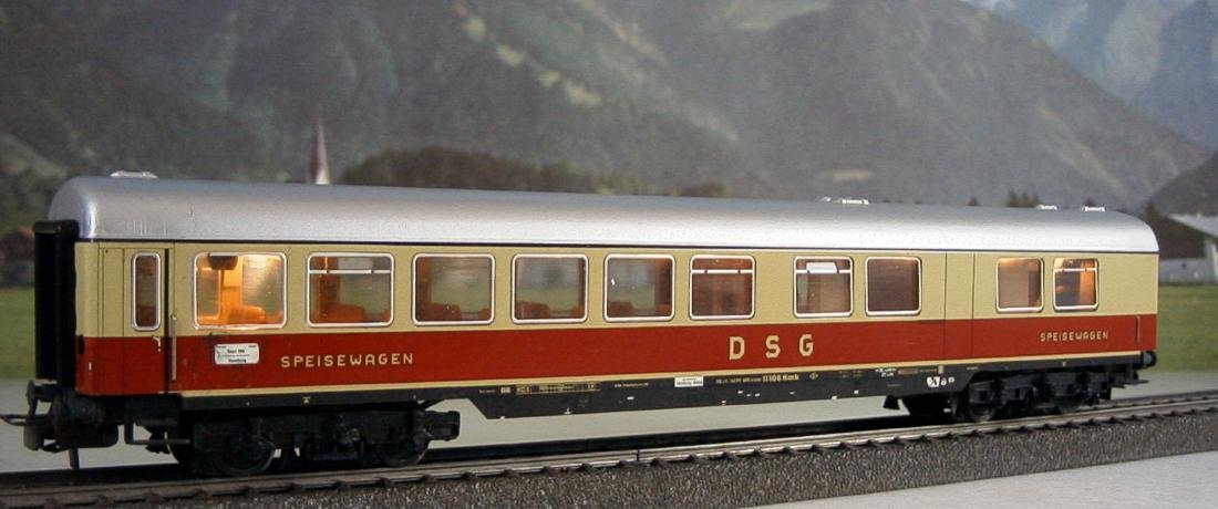 Märklin H0 - 4057 - TEE / IC Restaurant Car