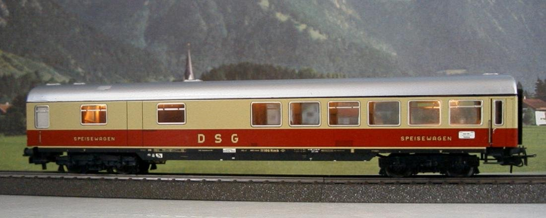 Märklin H0 - 4057 - TEE / IC Restaurant Car - 2