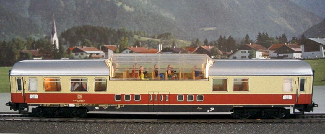 Märklin H0 - 4090 - TEE / IC Observation Coach