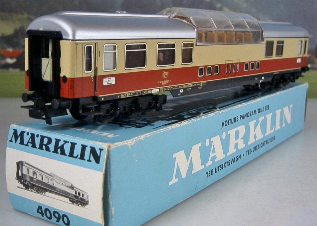 Märklin H0 - 4090 - TEE / IC Observation Coach - 7