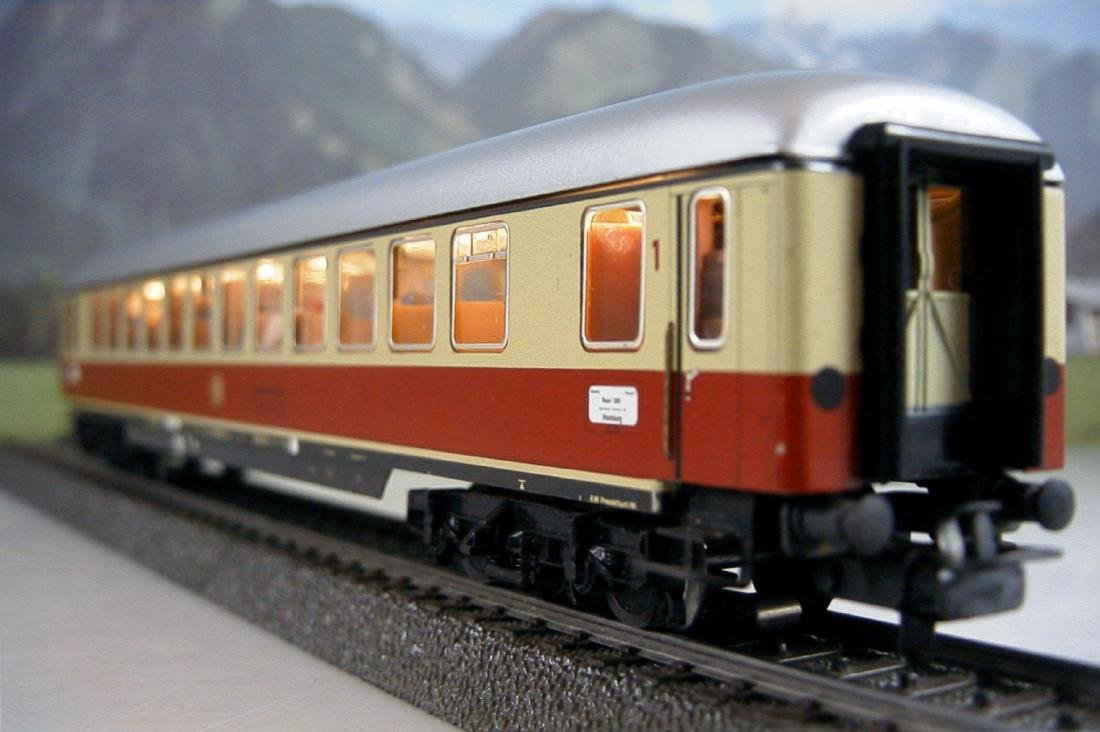 Märklin H0 4086 TEE / IC 1st Class Express Train Coach - 5
