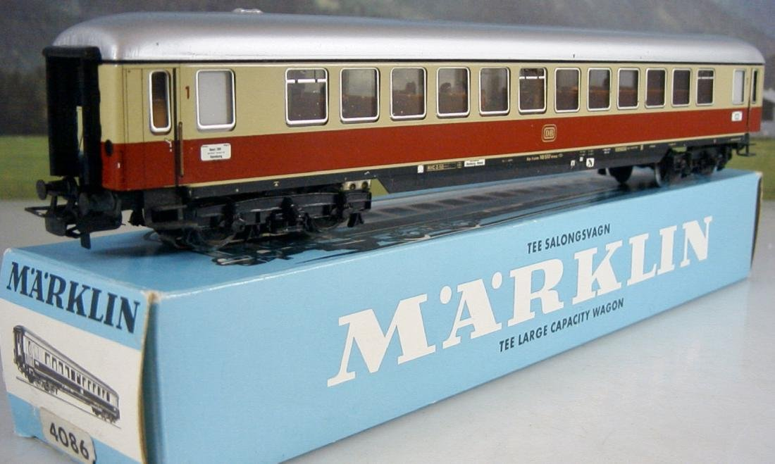 Märklin H0 4086 TEE / IC 1st Class Express Train Coach - 7