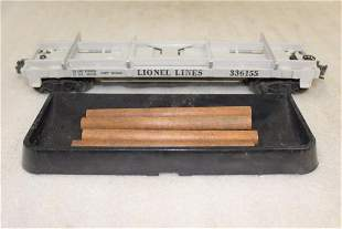 Lionel Postwar 3361 Operating Flatcar with Log Load