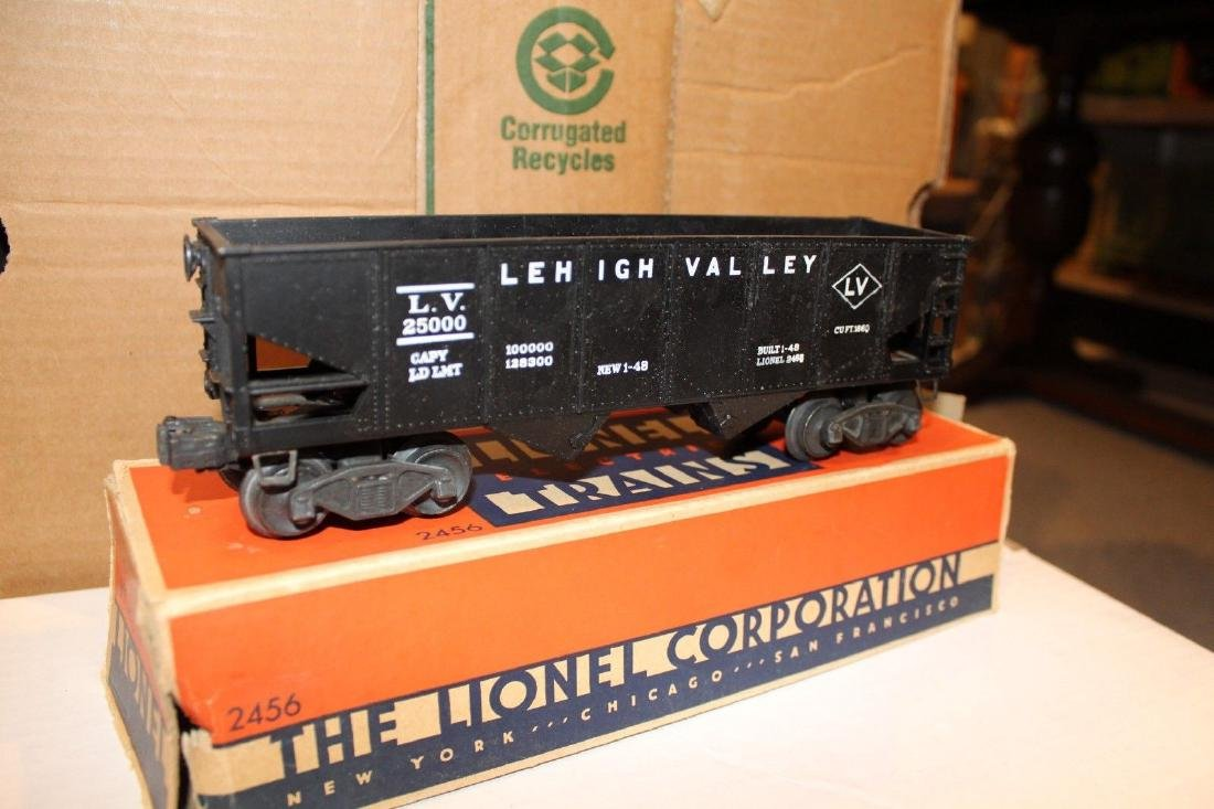 Lionel Postwar 2456 Lehigh Valley Hopper Coil Couplers