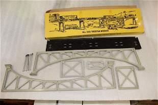 Lionel Postwar 322 Arch Under Bridge in Yellow Box