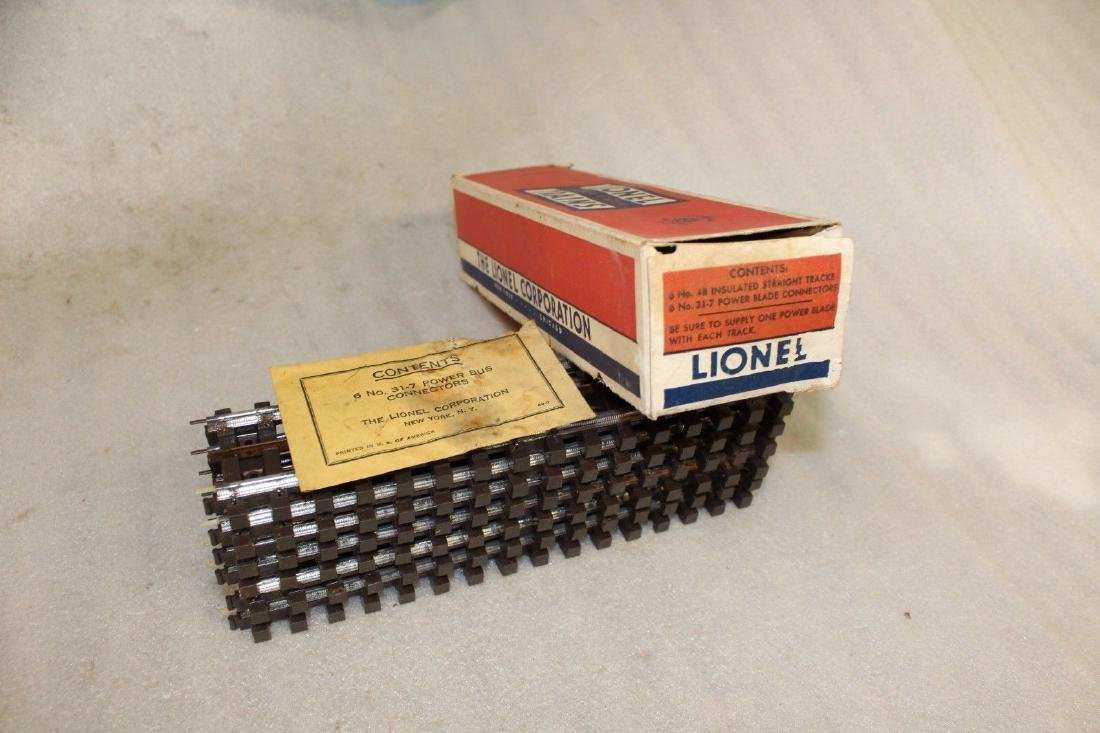 Lionel Postwar Box #48 Super Insulated Straight Track - 8