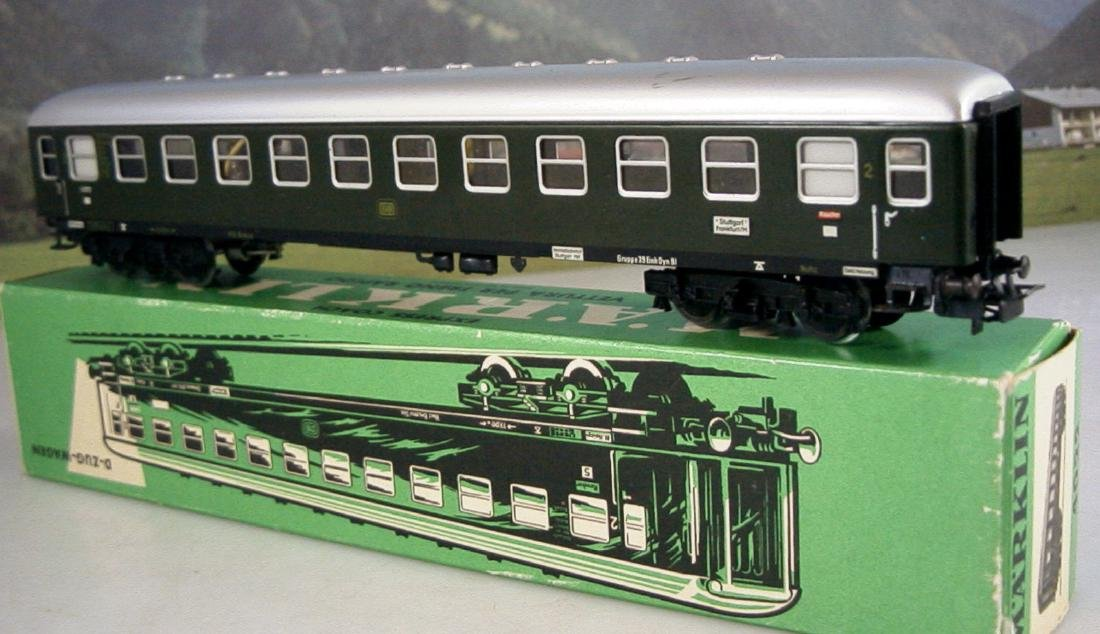 Märklin H0 4r D-train Carriages, 1st, 2nd Class - 3