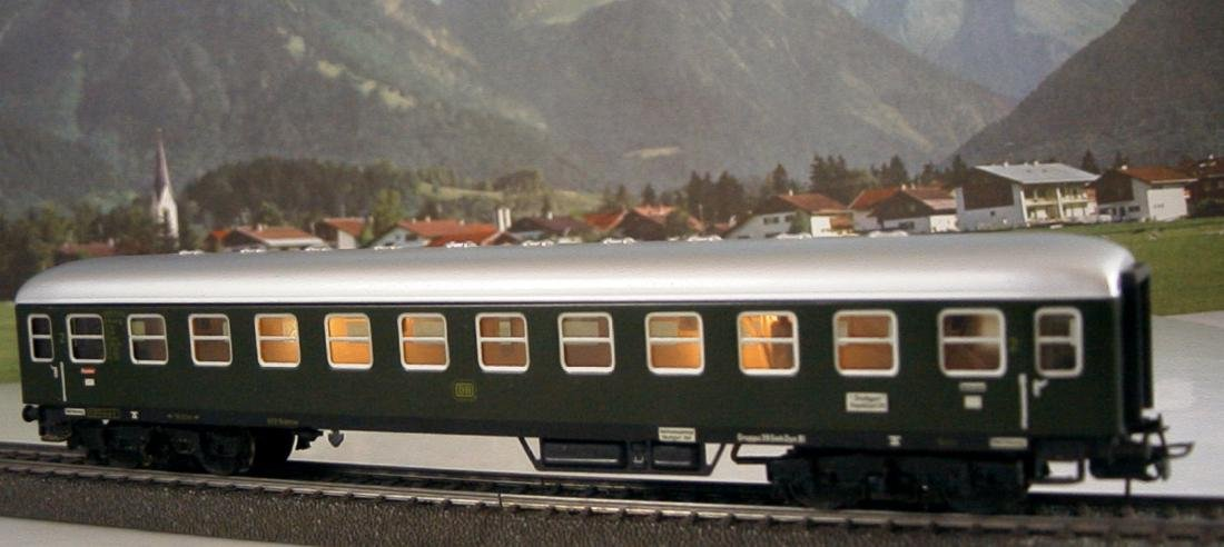 Märklin H0 4r D-train Carriages, 1st, 2nd Class - 7