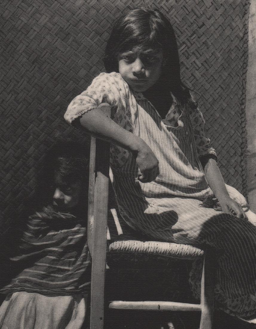 ANTON BRUEHL - Young Girl of the Pueblo