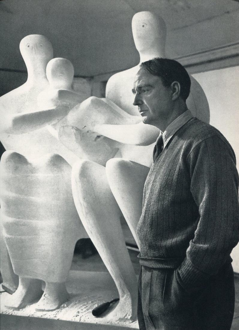 YOUSUF KARSH - Henry Moore