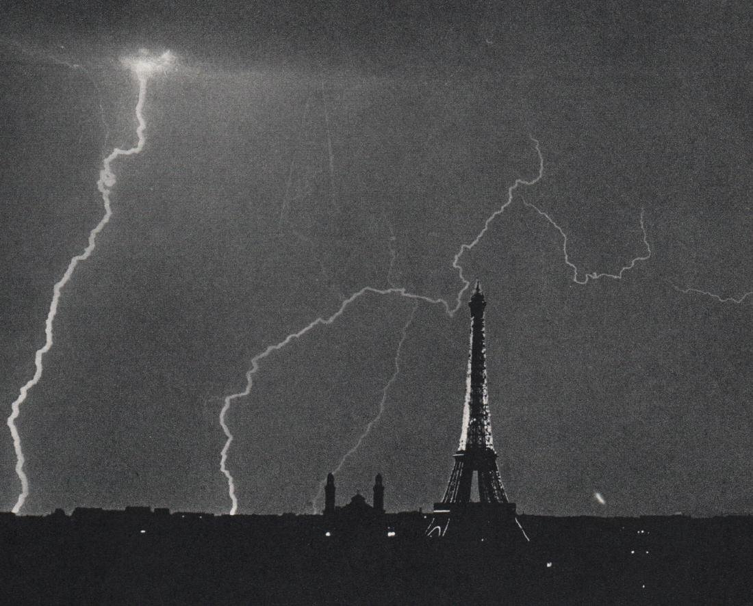 ANDRE KERTESZ -  Paris 1926, Eiffel Tower