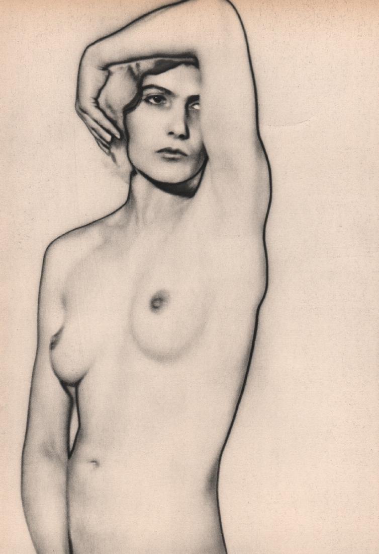 MAN RAY -  Natacha - Solarized Nude