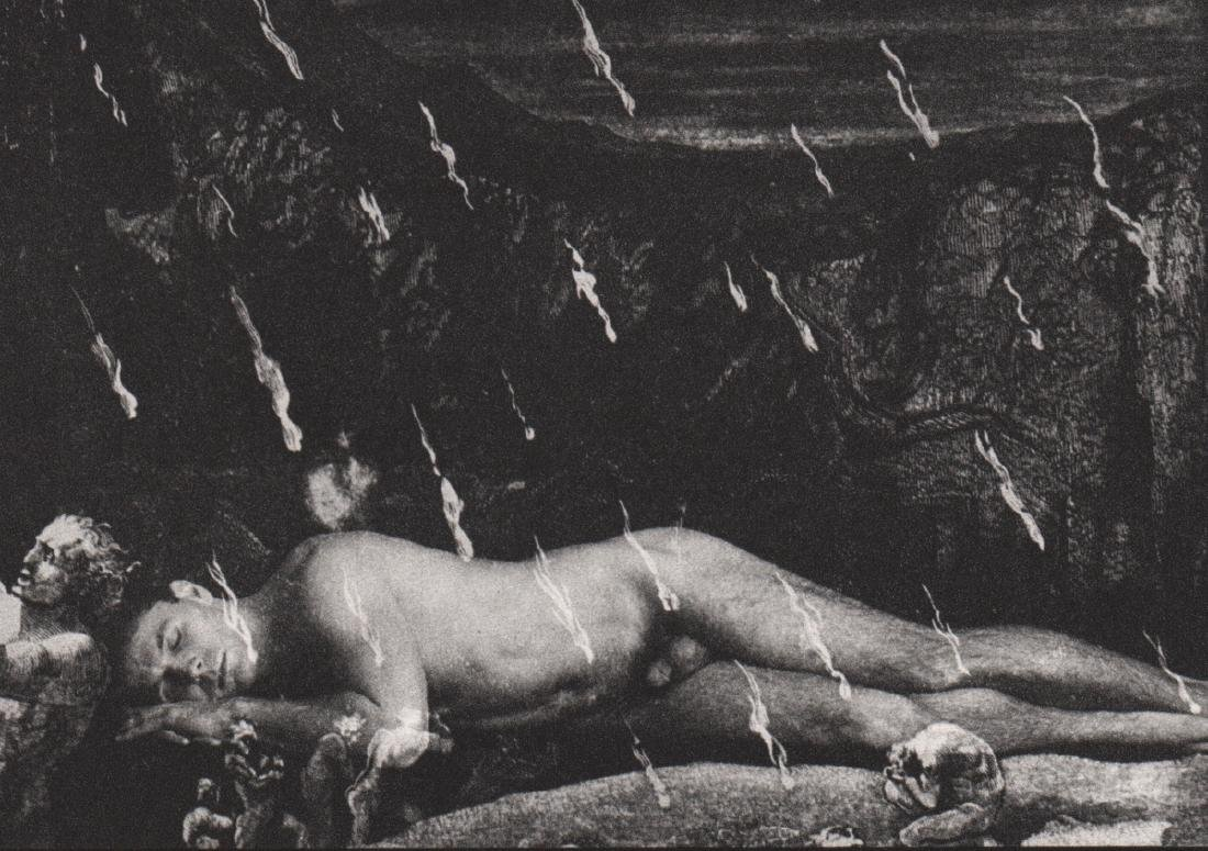 DUANE MICHALS - Sleeping Male Nude