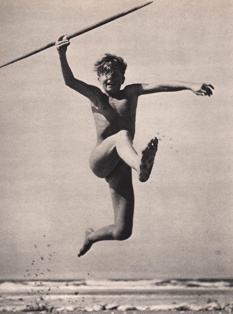 H. RITTLINGER - Happy Boy Leaping