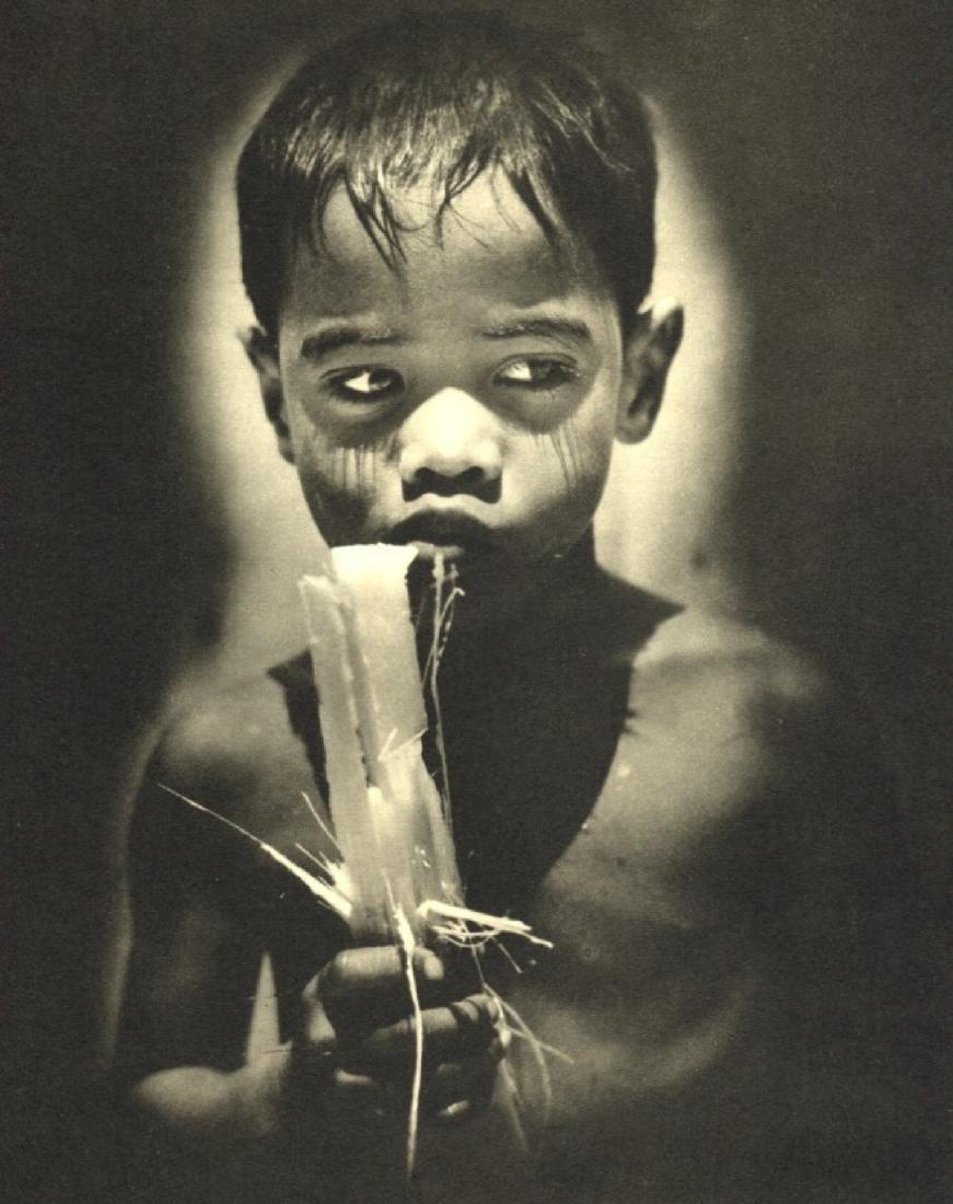M. ARTHUR ROBINSON - Boy eating Sugar Cane