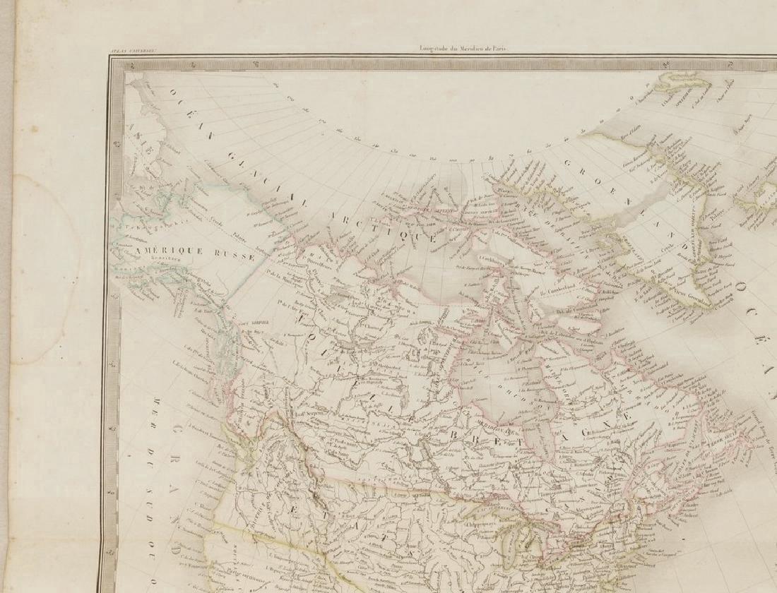 Lapie: Antique Map of North America, 1830 - 3