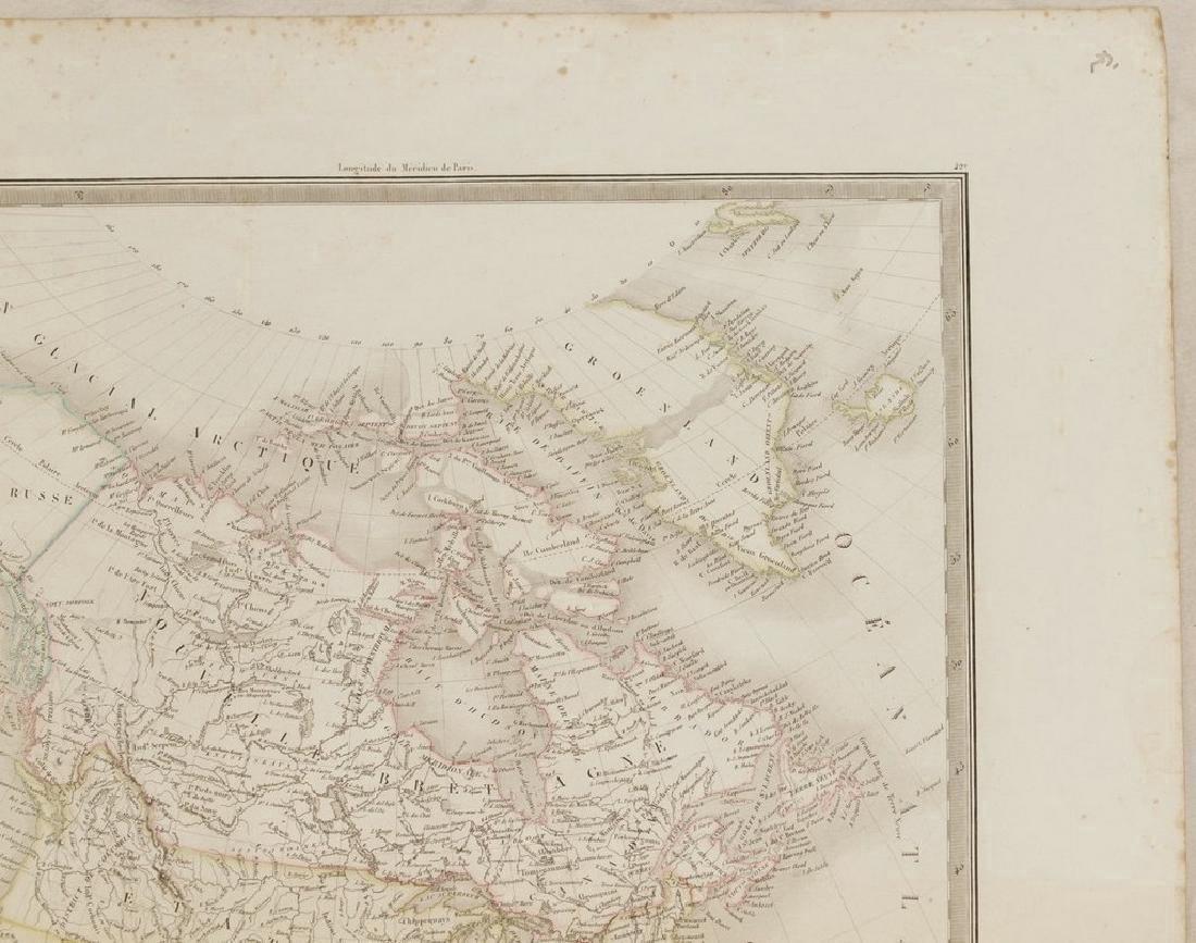 Lapie: Antique Map of North America, 1830 - 4