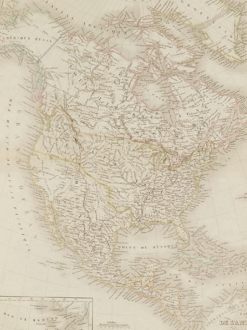 Lapie: Antique Map of North America, 1830 - 7