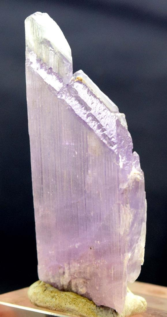 88 Gram Terminated Natural Pink Kunzite Crystal - 4