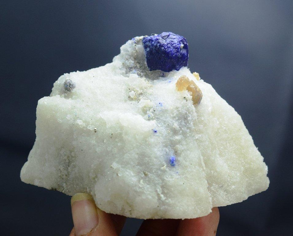173 Gram Lazurite Specimen with phologopite - 4