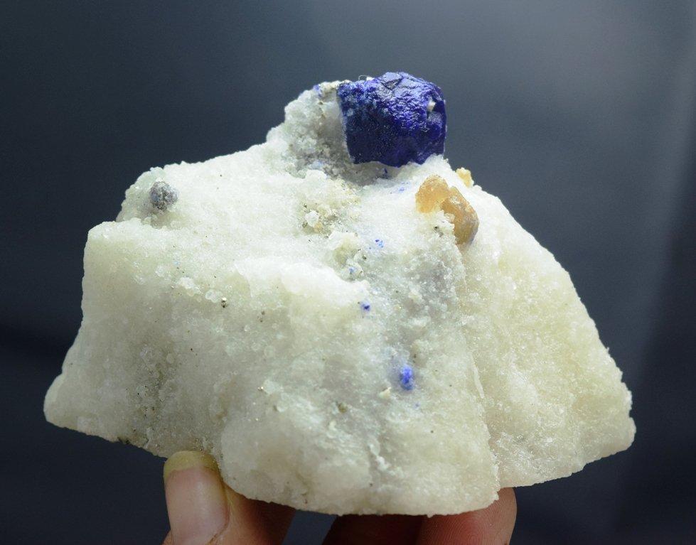 173 Gram Lazurite Specimen with phologopite - 5