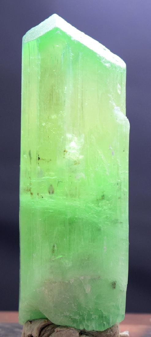 127 Gram Hiddenite Kunzite Crystal