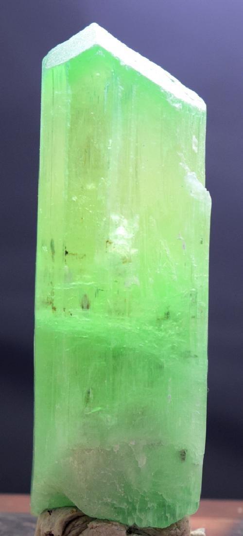 127 Gram Hiddenite Kunzite Crystal - 2