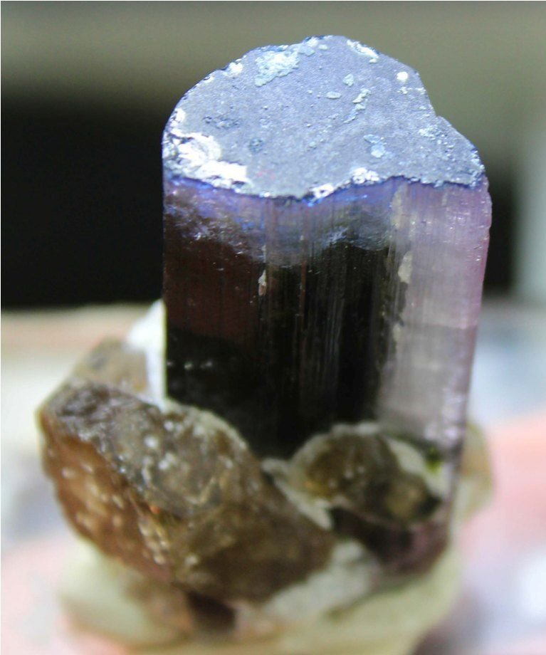 67 Gram Top Quality Blue Cap Tourmaline Specimen - 3