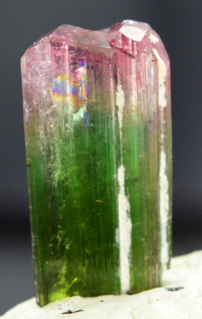 29.95 Carats Top Quality Bi Color Tourmaline Crystal - 2