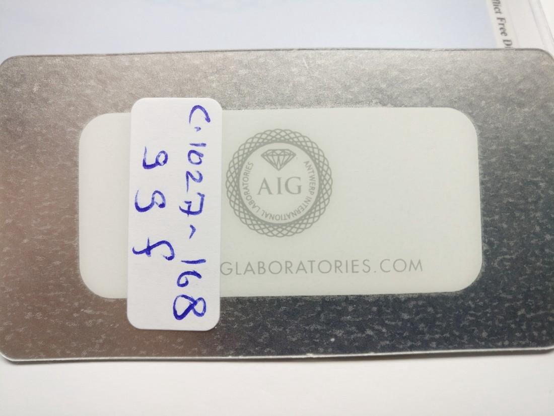 0.21 Carat Lot of 2 Loose Fancy Yellow Diamonds - 3