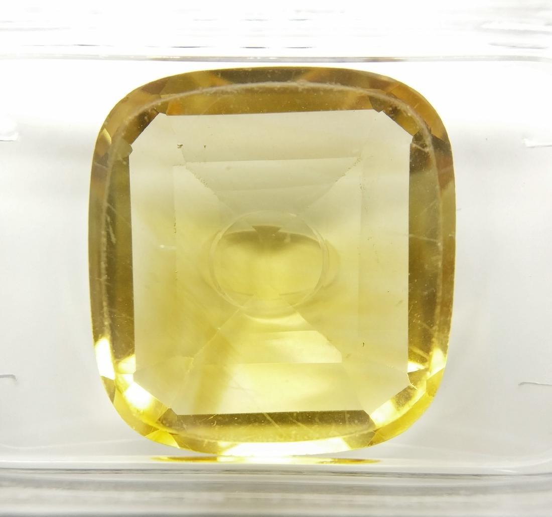 8.00 Carat Loose Yellow Citrine