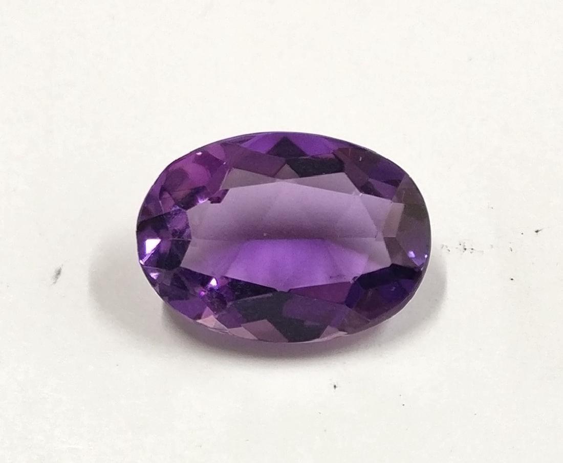 5.38 Carat Loose Amethyst Intense Purple