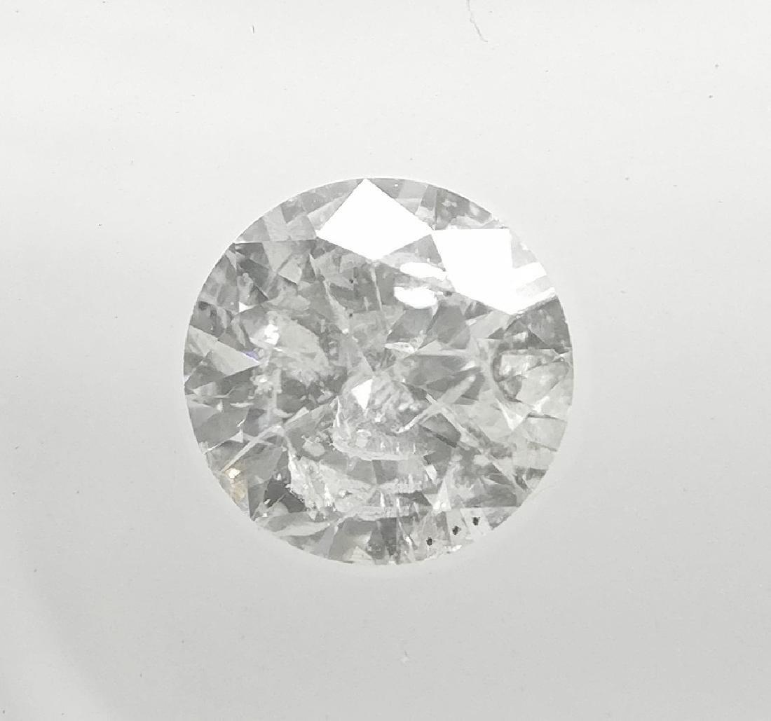 0.30 Carat Loose Round Cut Diamond F I1