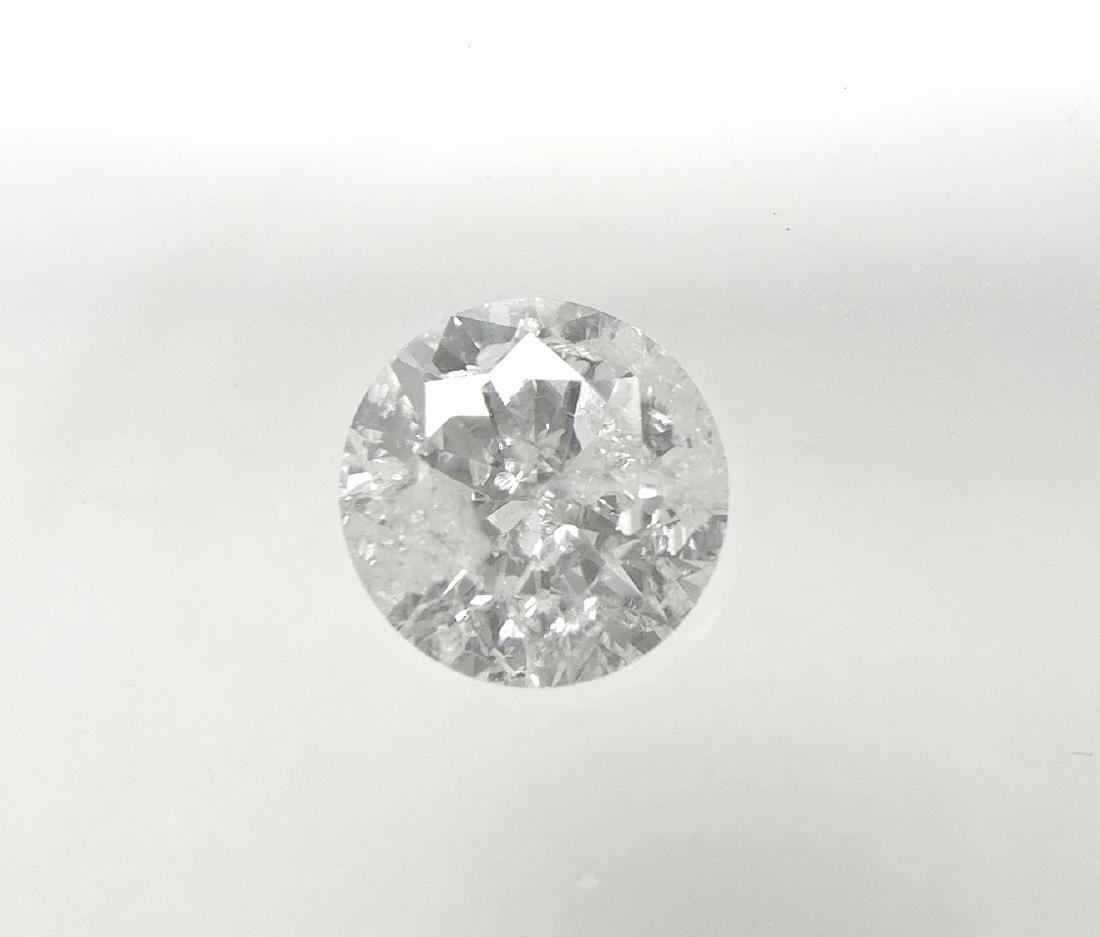 0.31 Carat Loose Round Cut Diamond E I2