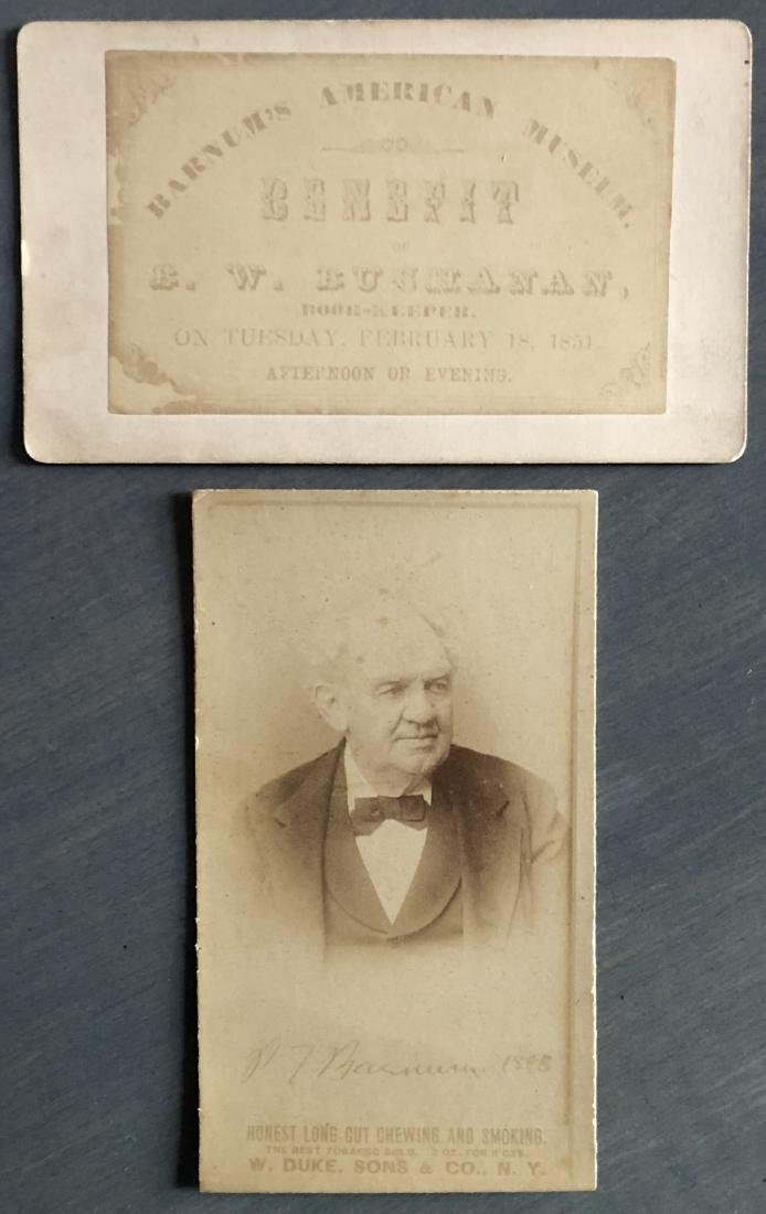 Pair of PT Barnum CDV's