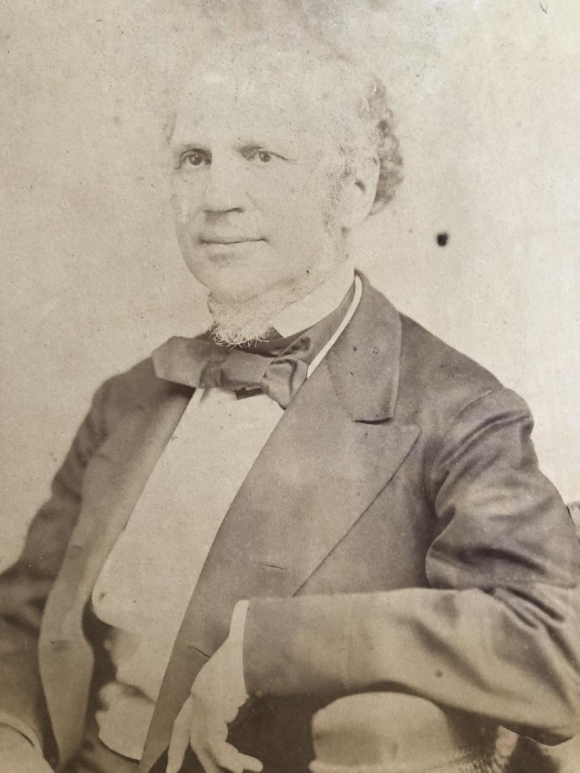 Photograph 1868 Presidential Candidate Horatio Seymour - 3