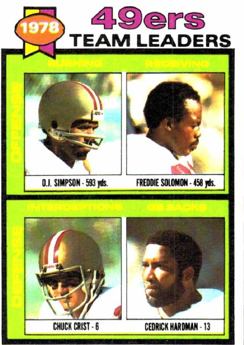 3 O.J. Simpson Card Lot - 5