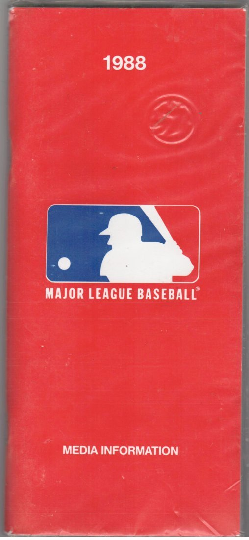 1988 Major League Baseball Media Information Guide